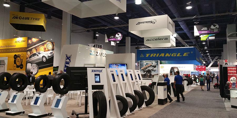 ZAFCO Unveils Winter Tyres SEMA Show 2014 – U.S.A