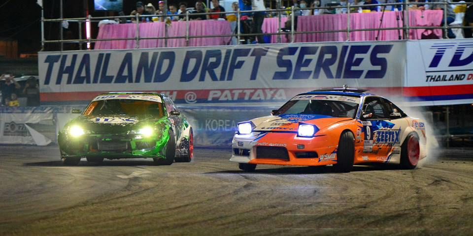 2 Trophies for ZEETEX – Thailand Drift Series 2014